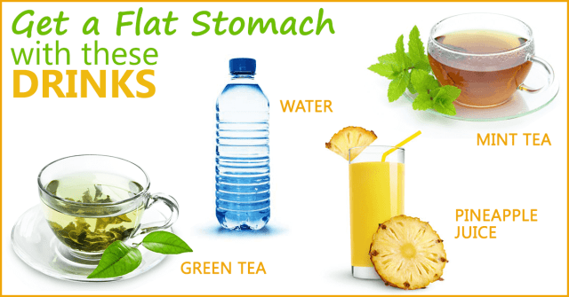 natural_drinks_flat_stomach