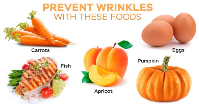 vitamins prevent wrinkles