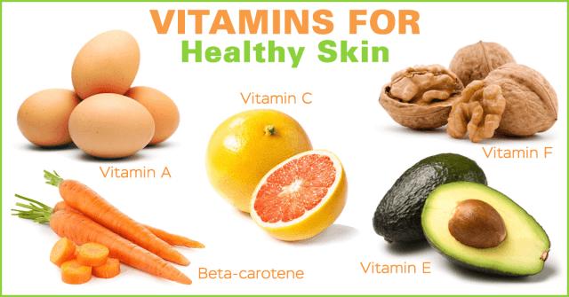 healthy skin vitamins