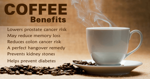 drinking coffee benefits