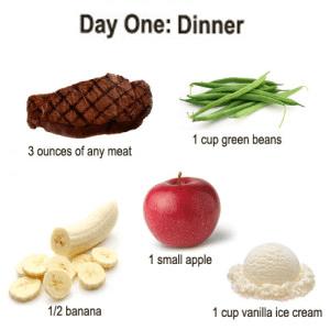 military-diet-day-1-dinner