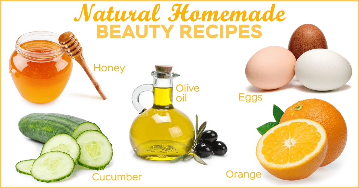 Natural Beauty Tips: Beauty is Hidden in Your Kitchen! •