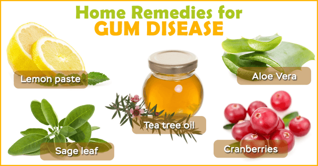 how to cure gum disease