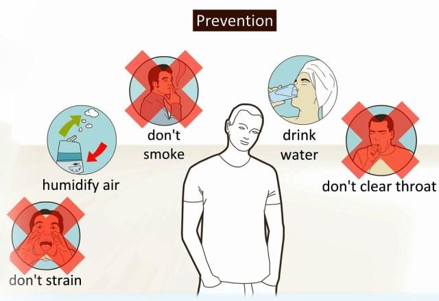 laryngitis advices