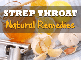 natural remedies for strep throat