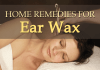 natural remedies for ear wax