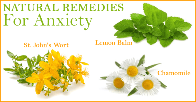 Natural remedies fro anxiety