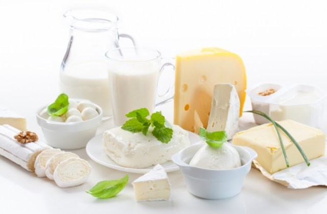 dairy products and candida