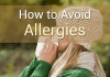 how to avoid allergies
