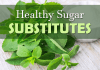 healthy replacements for sugar