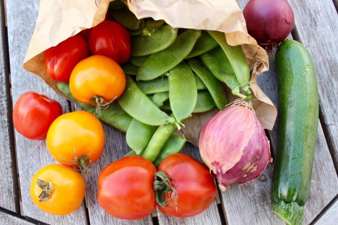 Saisonal Essen im August