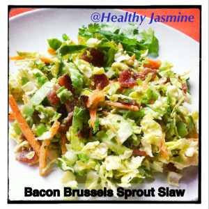 This slaw is made with good fats to give it that rich and creamy texture