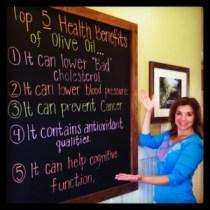 Pure olive oil has major health benefits!