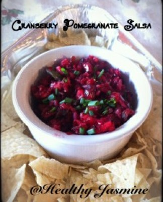 This festive salsa will be a hit at your next holiday party