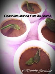 Chocolate Mocha Pots de Creme