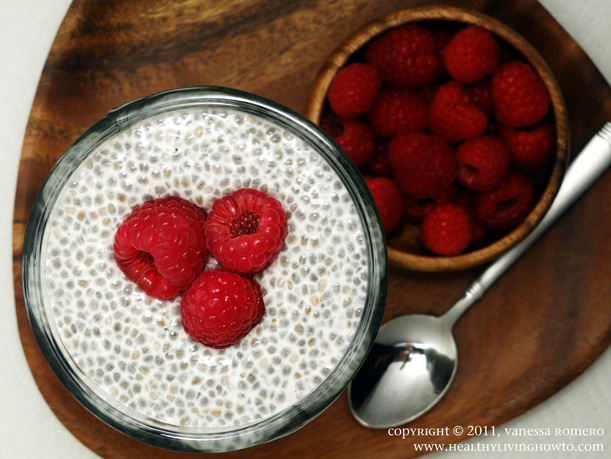 Healthy Vanilla Chia Pudding Image