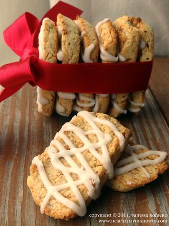 Healthy Vanilla Biscotti Cookies Image