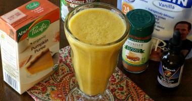 Healthy Holidays: Pumpkin Pie Protein Shake