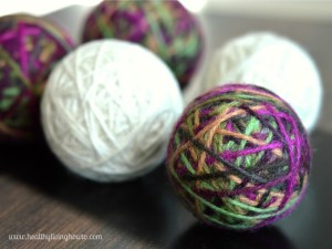 Dryer Balls Step Eight