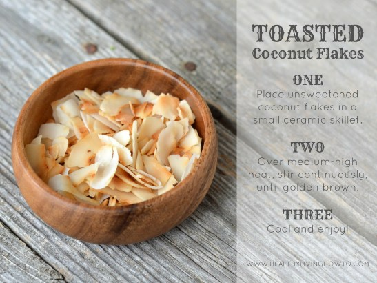 Toasted Coconut Flakes