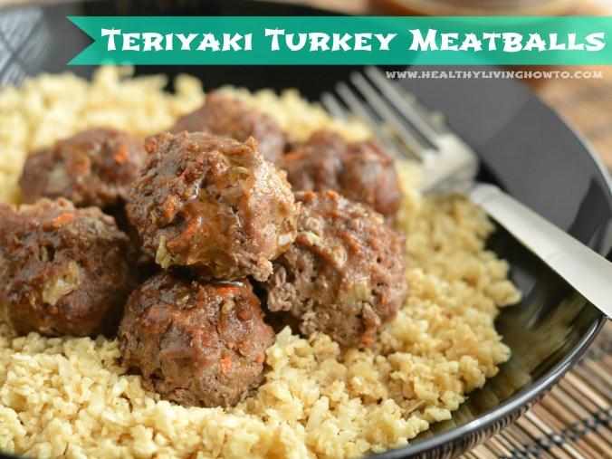 Turkey Teriyaki Meatballs