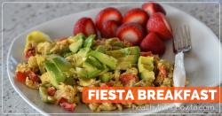 Fiesta Breakfast | healthylivinghowto.com featured