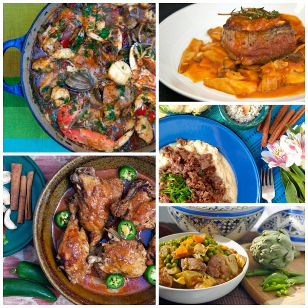 Mediterranean Paleo Cooking Collage