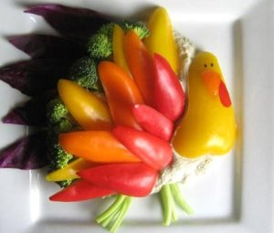 Raw Vegetable Turkeys