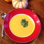 Curried Healthy Coconut Pumpkin Soup