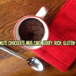Microwave 1-Minute Chocolate Mug Cake, Gooey, Rich and Gluten-Free