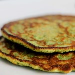savory green potato pancakes