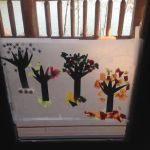 Window of The Seasons Craft for kids