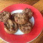 Flour-Less Banana Flax Muffins