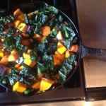 Kale and Sweet Root Vegetables Sauté