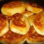 Potato Mushroom Pancakes