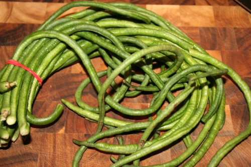 8. Yardlong Beans