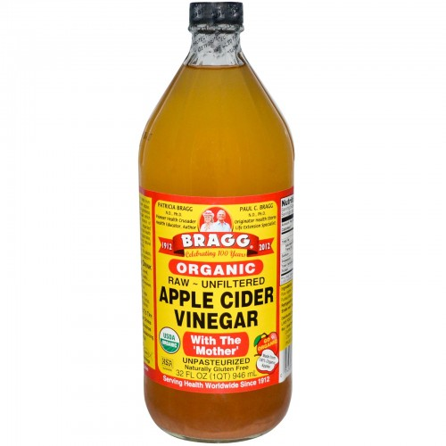5.Mix Some Castor Oil And Apple Cider Vinegar