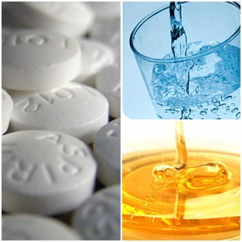 6.Make A Lemon-Aspirin Paste