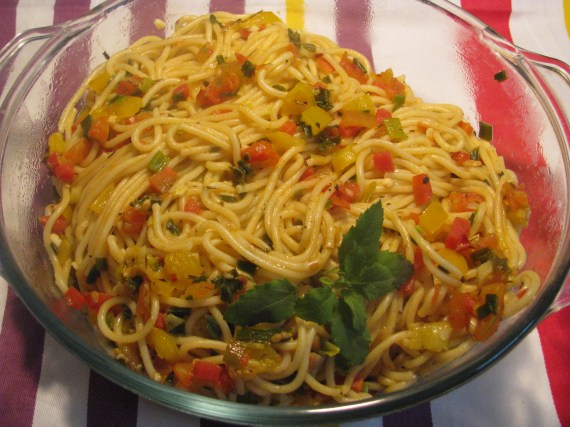 vegeterian pasta recipe