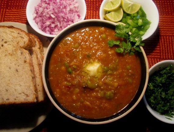 pav bhaji recipe