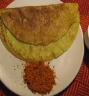 zucchini cheela / dosa