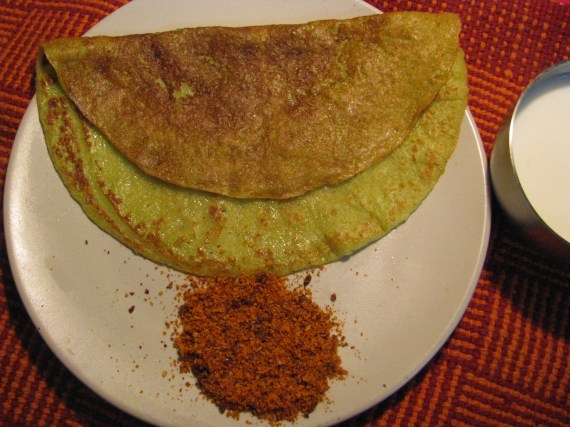 zuchini pancake indian style