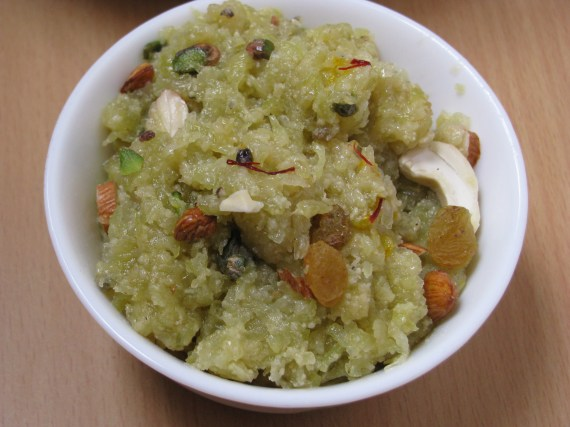 bottle gourd halwa recipe
