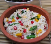 brown recipe - curd rice