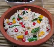 brown recipe - curd rice