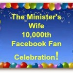 Enter to win The Minister's Wife 10,000th Facebook Fan Celebration Giveaway