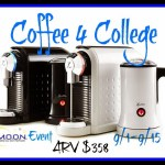Enter to win the Coffee 4 College Giveaway event and win an xpressivo machine with foamer and 60 coffee capsules