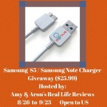 Samsung S5 - Samsung Note Charger Giveaway