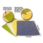 Premium Microfiber Cleaning Cloths By KleenDex