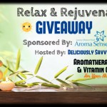 Relax & Rejuvenate Giveaway from Aroma Sense